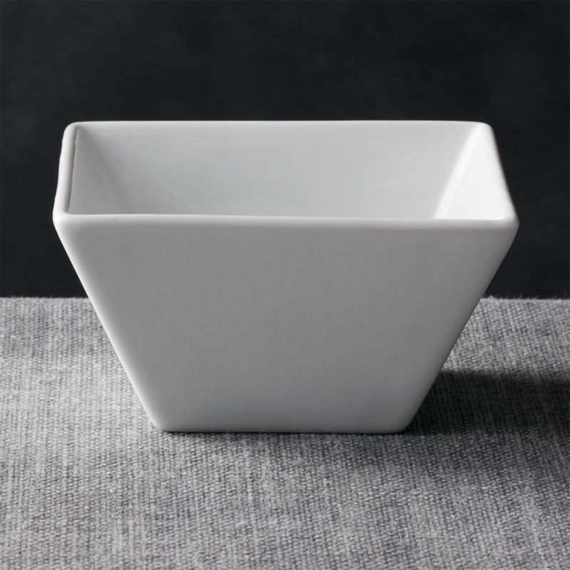 Square 4 75 Quot Bowl Reviews Crate And Barrel
