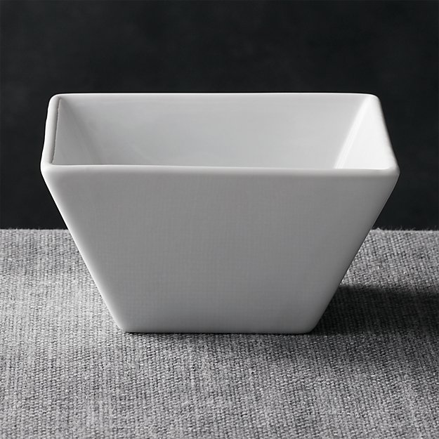 "Square 4.75"" Bowl - Image 1 of 6"