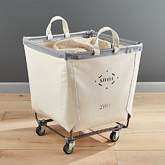 Steele ® Square Canvas Bin