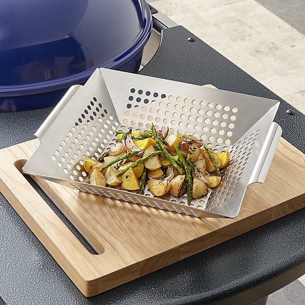 Square Grill Basket - Image 1 of 2