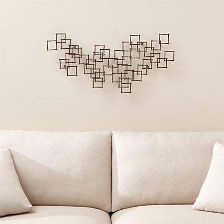 Squares Nail Metal Wall Art Reviews