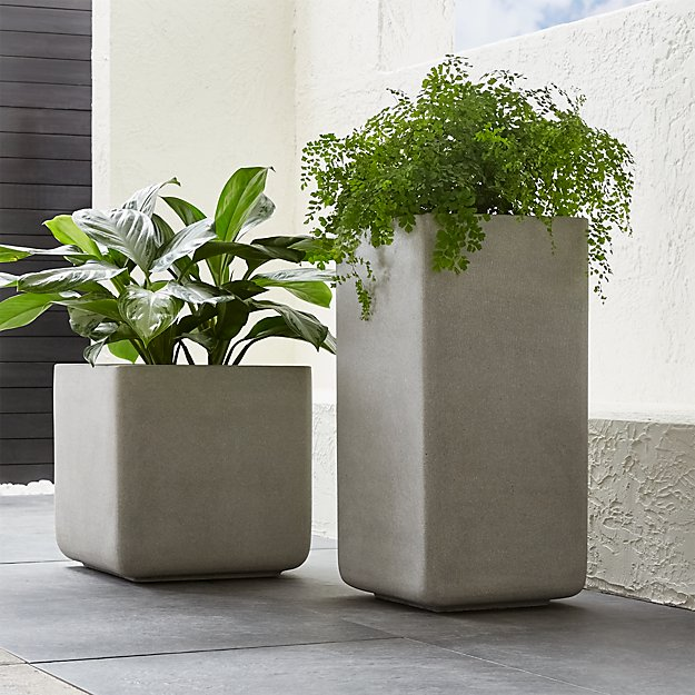squ cg geo urban product fibreglass square pot planter