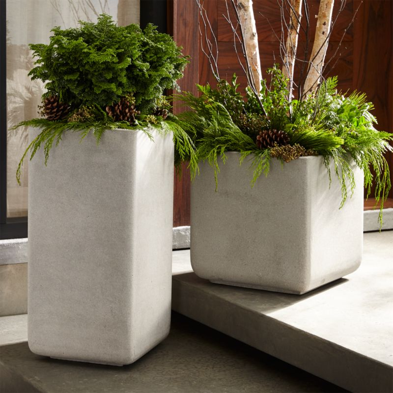Square Planters Crate And Barrel