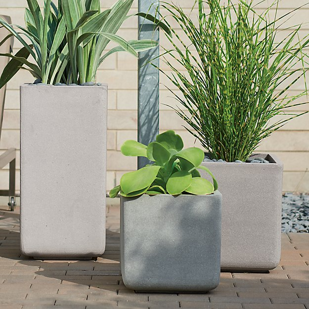 Square Planters - Image 1 of 10