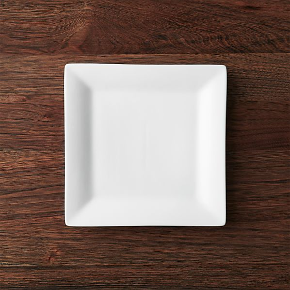 "Square Rim 8.25"" Plate"