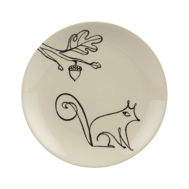 A freehand doodle elevated into artistry embellishes handmade stoneware in a whimsical dark-on-light design by noted artist Elvis Swift. Styled for special occasions, made durable for everyday use.<br /><br /><NEWTAG/><ul><li>Design by Elvis Swift</li><li>Handcrafted</li><li>Stoneware</li><li>Dishwasher- and microwave-safe</li></ul>