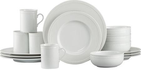 Staccato 16 Piece Dinnerware Set