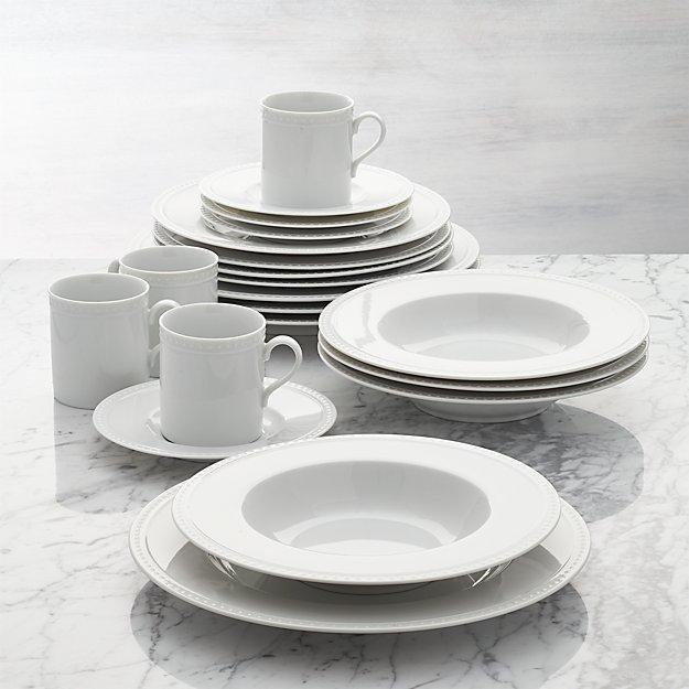 Staccato 20-Piece Dinnerware Set