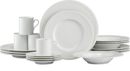 Staccato 20 Piece Dinnerware Set