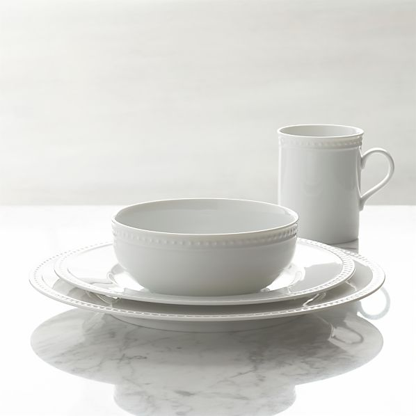 Staccato 4-Piece Place Setting