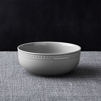 Staccato Grey Cereal Bowl