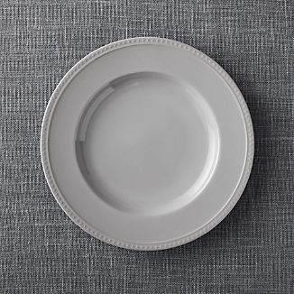 Staccato Grey Dinner Plate