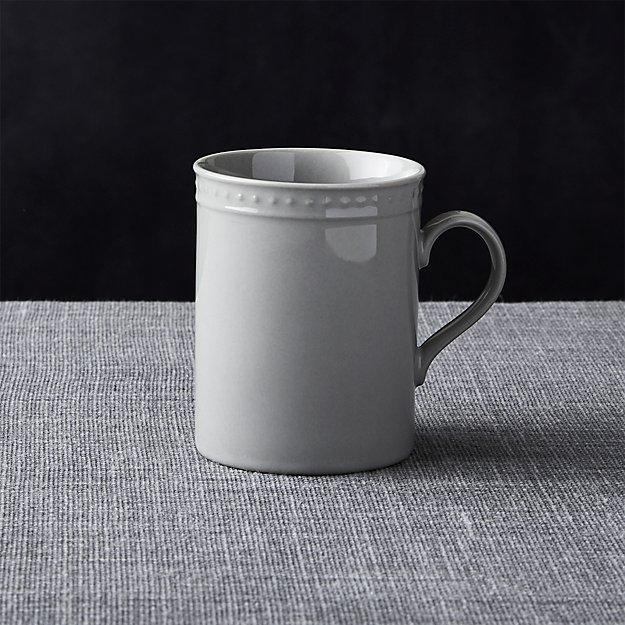 Staccato Grey Mug
