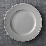 Staccato Grey Round Platter