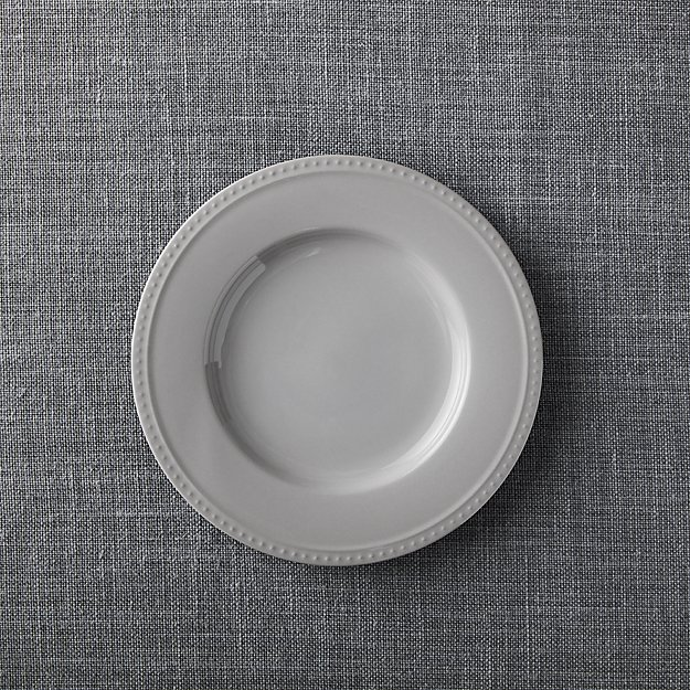Staccato Grey Salad Plate - Image 1 of 4
