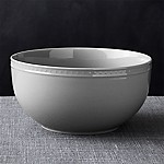 Staccato Grey Serving Bowl