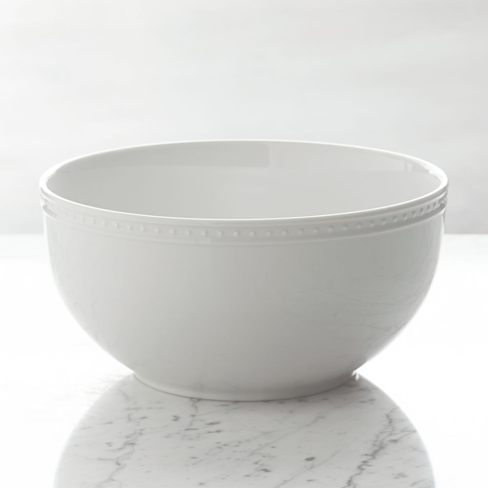 Staccato Serving Bowl - Crate and Barrel