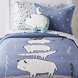 Stacked Animals Bedding