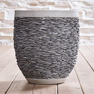 Stacked Large Rock Planter