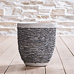 Stacked Small Rock Planter