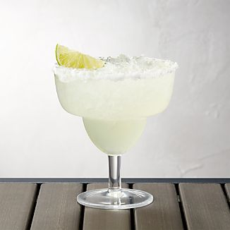 Stacking Acrylic Margarita Glass