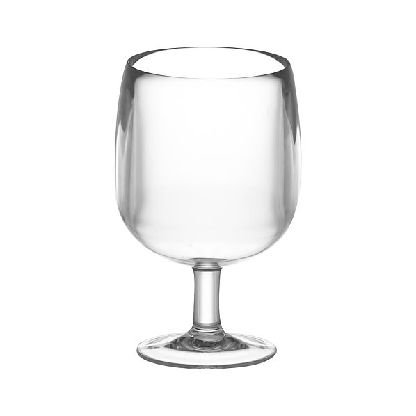 Stacking Clear Acrylic Wine Glass