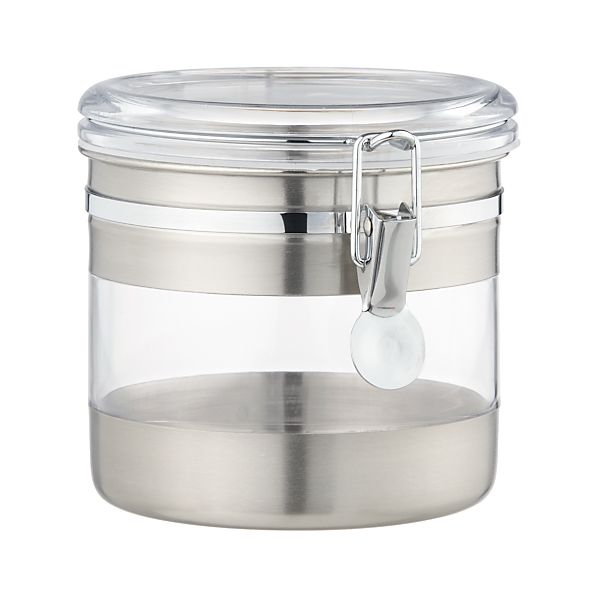 Stainless Steel Small Clip Canister