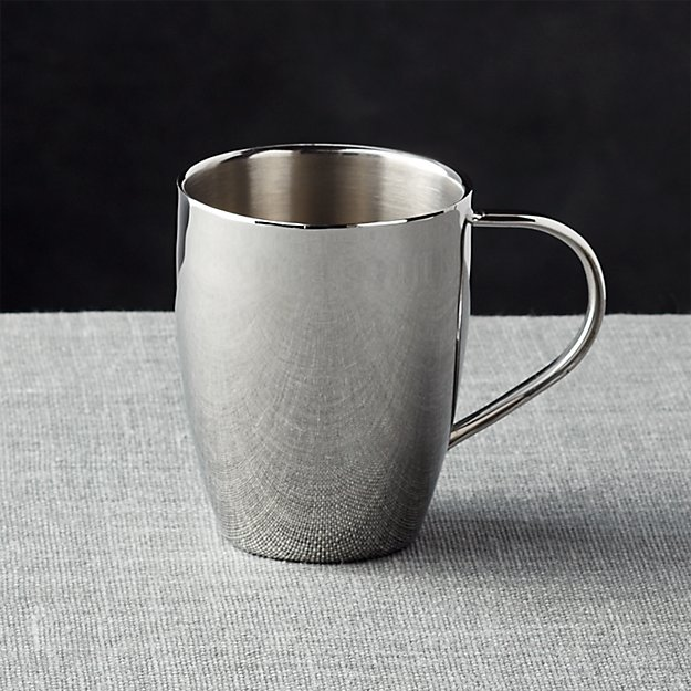 insulated stainless steel coffee mug reviews crate and barrel