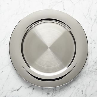 Stainless Steel Charger Plate