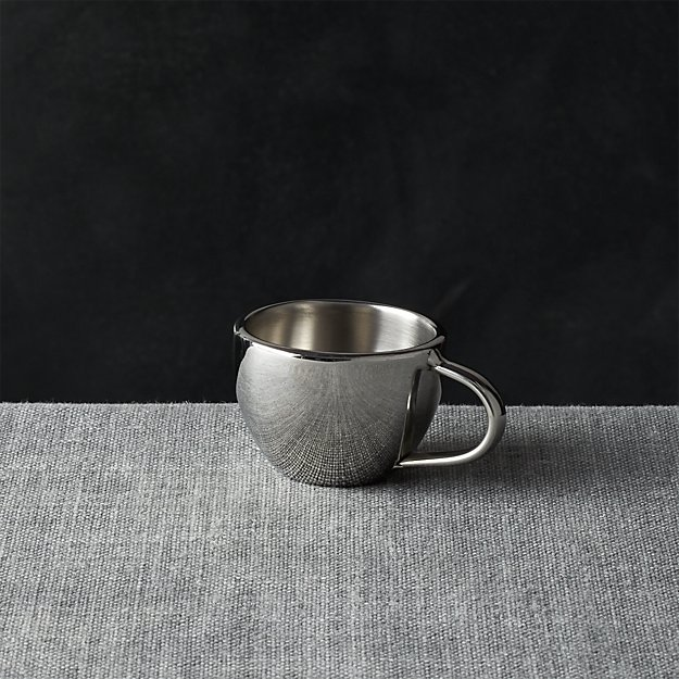 Stainless-Steel Espresso Cup - Image 1 of 4