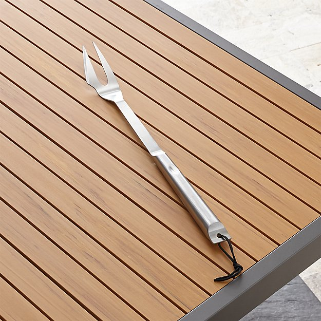 Stainless Steel Grill Fork - Image 1 of 2