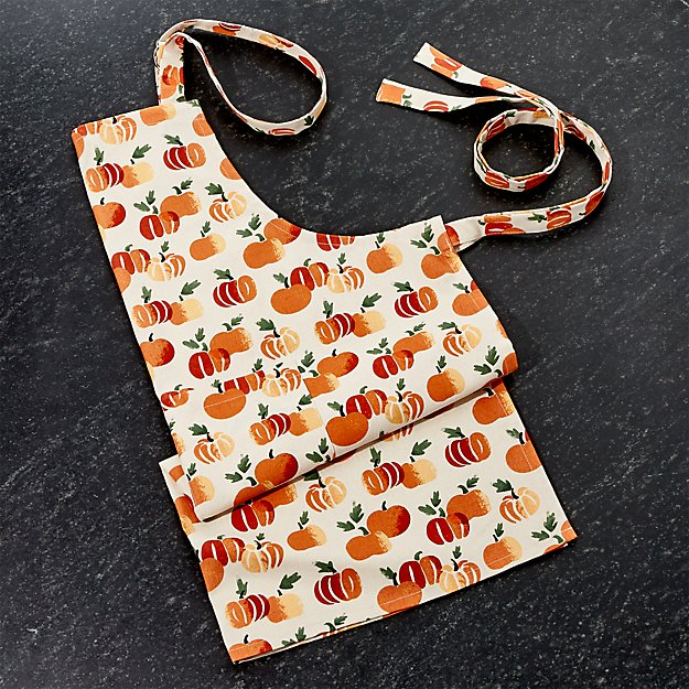 Stamped Pumpkins Apron