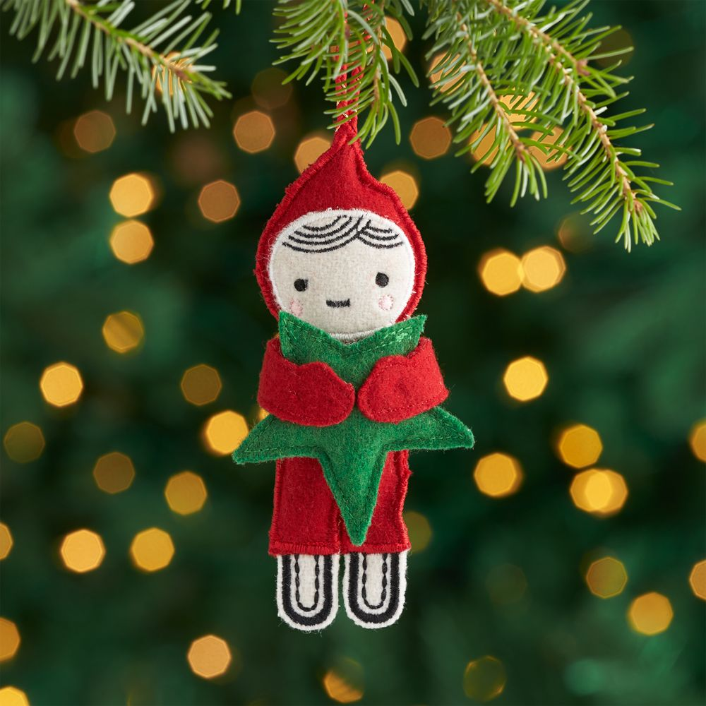Star Elf Ornament