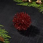 Red 2  Starburst Ornament