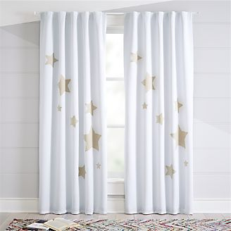 Star Blackout Curtains Kids