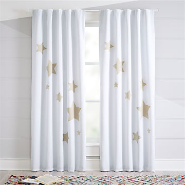Kids Curtains Hardware Ships Free Crate And Barrel