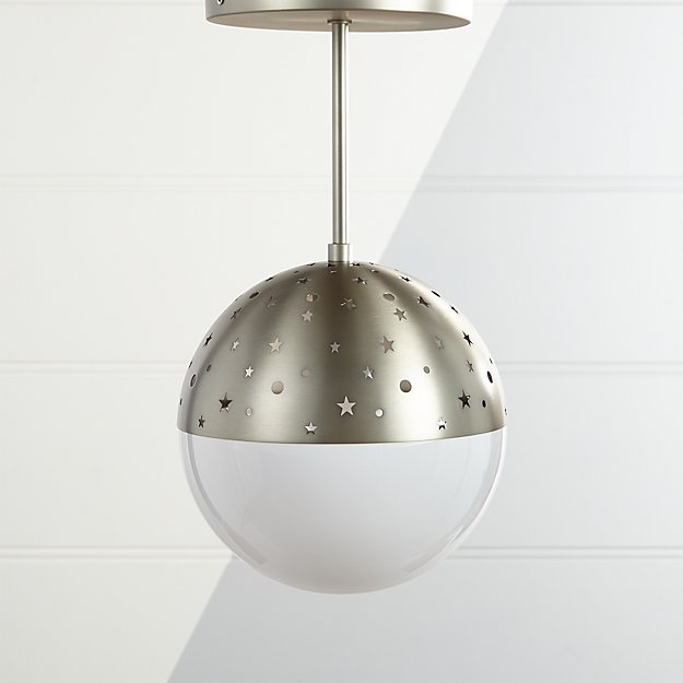 Star Bright Cutout Metal Pendant Light Reviews Crate