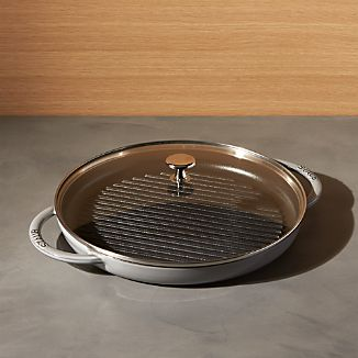 Staub ® Cast Iron Round Steam Grill - Graphite