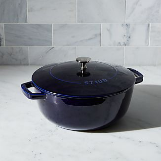 Staub ® 3.75-Qt. Dark Blue Essential French Oven