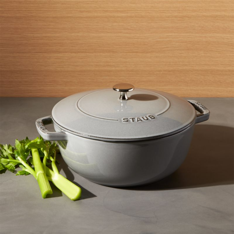 Staub 3 75 Qt Graphite Grey Essential French Oven