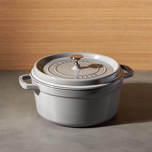 Staub ® 5.5-Qt Graphite Grey Cocotte