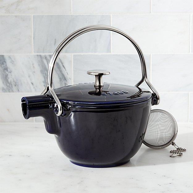 Staub ® Dark Blue Tea Kettle