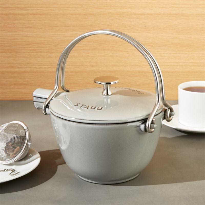 Staub ® Grey Tea Kettle