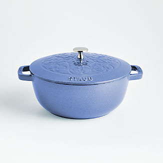 Staub ® 3.75-Qt Metallic Blue Essential French Oven