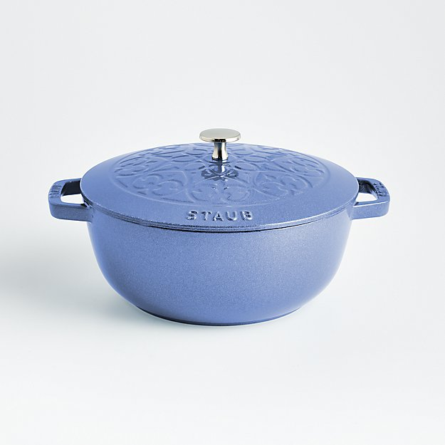 Staub ® 3.75-Qt Metallic Blue Essential French Oven - Image 1 of 2
