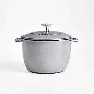 Staub ® Graphite 1.5-Qt. Petite French Oven