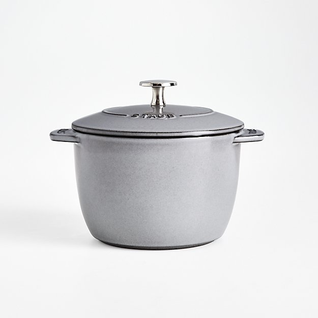 Staub ® Graphite 1.5-Qt. Petite French Oven - Image 1 of 2