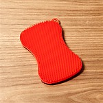 Kuhn Rikon Stay Clean Red Dish Scrubber