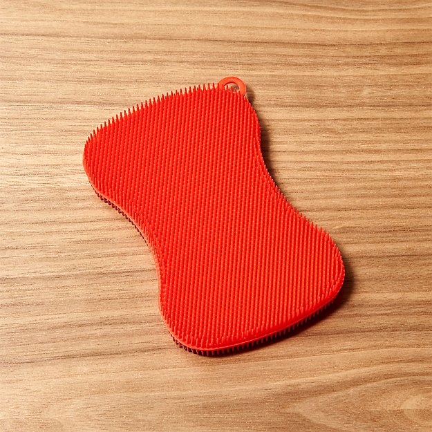 Kuhn Rikon Stay Clean Red Dish Scrubber - Image 1 of 3