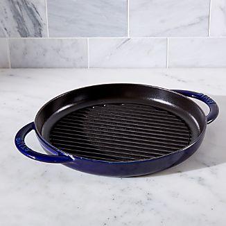 Staub ® Dark Blue Round Pure Grill